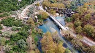 Roman Aquadect in Filippiada Drone flight