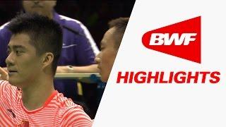 getlinkyoutube.com-VIVO BWF Sudirman Cup 2015 | Badminton F - China vs Japan - Highlights