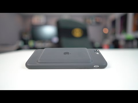 Apple Battery Case مراجعة كفر الاي فون باتري من ابل