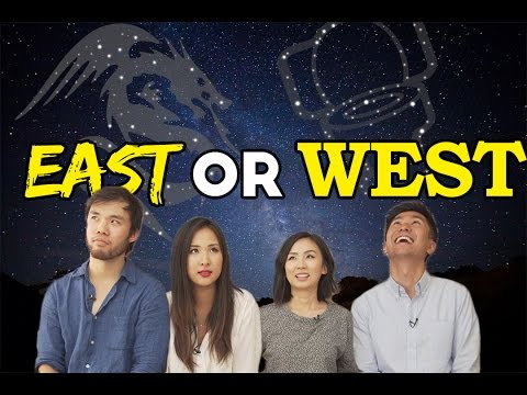 EAST or WEST: Chinese Zodiac or Western Horoscope?