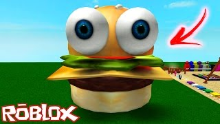 getlinkyoutube.com-Roblox: ESCAPE DO HAMBÚRGUER GIGANTE !! - (Escape The Burger Obby)