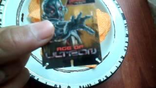 getlinkyoutube.com-Unboxing tarjetas de los vengadores sabritas