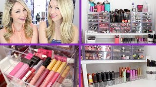 Makeup Collection and Storage | Stefanie