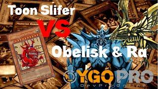 getlinkyoutube.com-Toon Slifer vs. Obelisk & Ra - Yu-Gi-Oh! DevPro