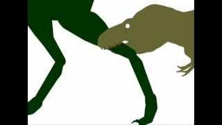 getlinkyoutube.com-ASDC - Nanotyrannus vs Tyrannosaurus Rex