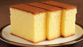 getlinkyoutube.com-طريقة عمل الكيكه الاسفنجيه في مطبخ ميني
