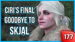 getlinkyoutube.com-Witcher 3 ► Taking Ciri to Skjal's Grave for her Final Goodbye (Ciri Punches a Guy!) #177