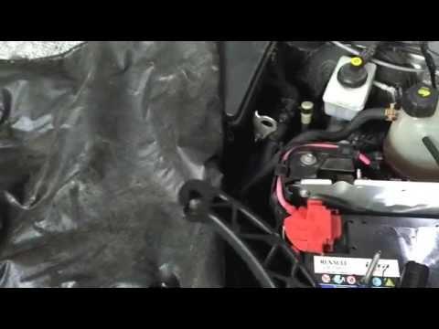 Где находится педаль газа у Дачия Дастер