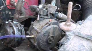 Fixing an automotive propane system