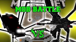 getlinkyoutube.com-ROBOT SPIDER VS NIGHTMARE - Minecraft Mob Battles - Mods