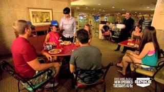 getlinkyoutube.com-Ảo thuật đường phố cực đỉnh - Criss Angel BeLIEve Floating Coffee On Spike
