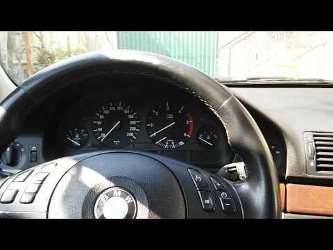 BMW e39 15 литров топлива в баке.