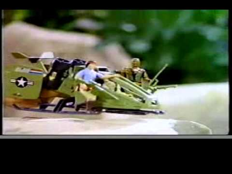 GI JOE 1984 Toy Commercial Duke, Spirit, Roadblock, Storm Shadow, Cobra CLAW, G.I. JOE Skyhawk