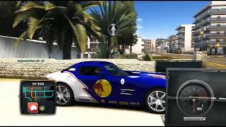 Test Drive Unlimited 2 Primera Casa del Juego a la Tienda de Ferrari