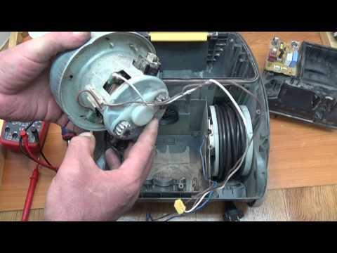 Пылесос Samsung ремонт двигателя
