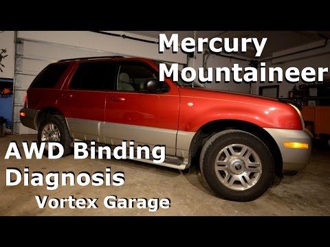 Mercury Mountaineer - AWD Binding Diagnosis/Tire Sizes/Project Intro - Vortex Garage Ep. 5