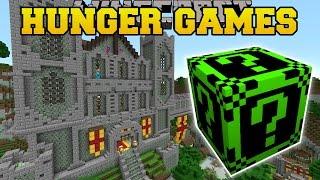 getlinkyoutube.com-Minecraft: FALLEN KINGDOM HUNGER GAMES - Lucky Block Mod - Mod