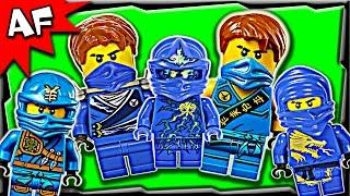 getlinkyoutube.com-Lego Ninjago Jay BLUE NINJA Minifigures Complete Collection