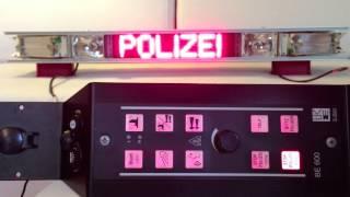 getlinkyoutube.com-Hänsch DBS 975 Polizei Hessen mit Typ 620 Yelp & elektrischem Kompressor-Signal mit BE 600