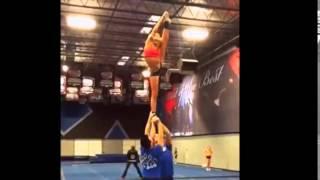 getlinkyoutube.com-Cheer Athletics Cheetahs Stunt 14-15
