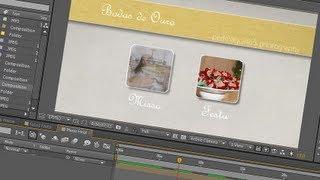 getlinkyoutube.com-09. After Effects: Menu de DVD animado e interativo