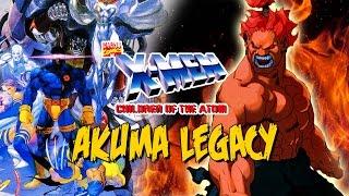 getlinkyoutube.com-GETTIN' CHEESY - Akuma Legacy: X-MEN Children of the Atom