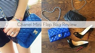 getlinkyoutube.com-Chanel Mini Flap Bag Review