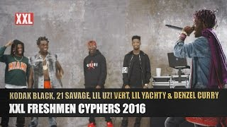 getlinkyoutube.com-Kodak Black, 21 Savage, Lil Uzi Vert, Lil Yachty & Denzel Curry's 2016 XXL Freshmen Cypher