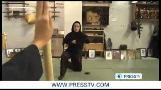 getlinkyoutube.com-رهيب ايرانيات يتدربن ليصبحن مقاتلات نينجا