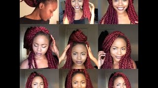 getlinkyoutube.com-9 WAYS I STYLE CROCHET TWISTS