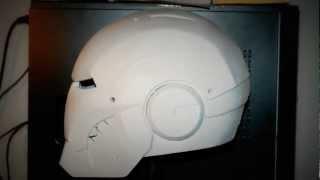 getlinkyoutube.com-Iron Man Helmet - Mark III -  Template - Scratch Build