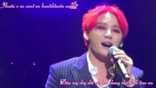 getlinkyoutube.com-{Vietsub+Kara}141230 Sakurairo Maukoro   Kim Junsu  XIA Ballad&Musical vol 3