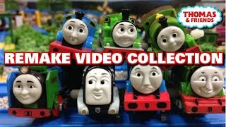 "Thomas and friends ""Remake Video Collection"" トーマス プラレール ガチャガチャ  リメークビデオ特集"