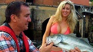 Girls First Fish - Fishing Georgia - Chattahoochee River - Morgan Falls Dam