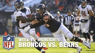 getlinkyoutube.com-Broncos vs. Bears | Week 11 Highlights | NFL