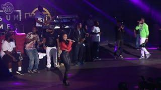 getlinkyoutube.com-Meek Mill brings out Nicki Minaj at Summer Jam 2015