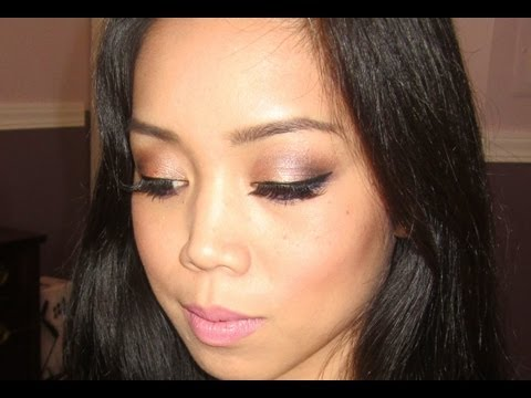 Sultry Fall Makeup Tutorial - Bronze and Purple - itsJudyTime
