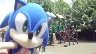 getlinkyoutube.com-ABM Adventure: Sonic & Friends playing at the park!! HD