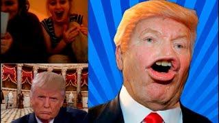 getlinkyoutube.com-Donald Trump   Chatroulette prank