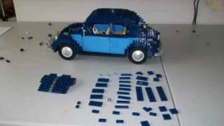 getlinkyoutube.com-Building Lego VW Beetle