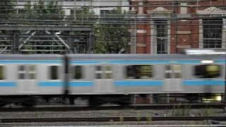 getlinkyoutube.com-京浜東北線 209系北行・南行連続通過 山手線 E231系500番台