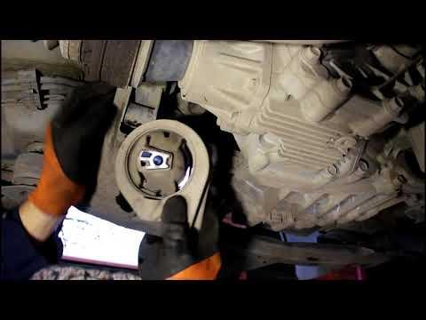 Замена задней подушки двигателя SsangYong Actyon 2 0 4wd СсангЙонг Актион 2012 года