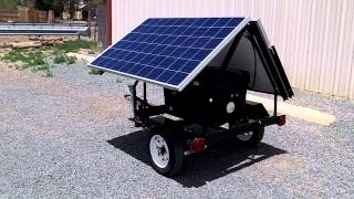 getlinkyoutube.com-Portable Trailer Mounted Solar System