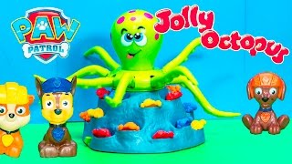 getlinkyoutube.com-JOLLY OCTOPUS Game With Nickelodeon Patrol Doc McStuffins + Mickey Mouse Video Toys Unboxing