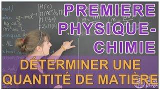 getlinkyoutube.com-Déterminer une quantité de matière - Physique-Chimie - 1ère S - Les Bons Profs
