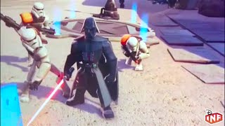 Disney Infinity 3.0 Star Wars in store demo gameplay