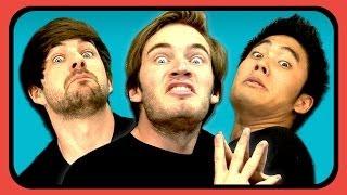 getlinkyoutube.com-YouTubers React To Short Viral Videos