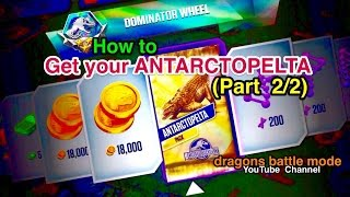 Hunting for the ANTARCTOPELTA (Part 2/2) Tips that might you get it. Read desc - JurassicWorld