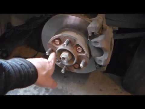 Замена-подшипник передней ступицы Daewoo Matiz