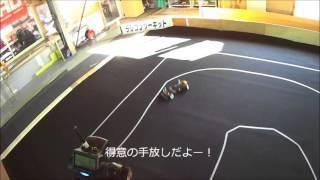 getlinkyoutube.com-ラジドリ2WD フロント ゴムタイヤ仕様
